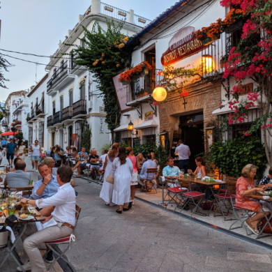 Restaurant in Marbella Old Town