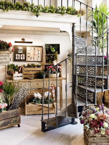 Flower shop in Madrid