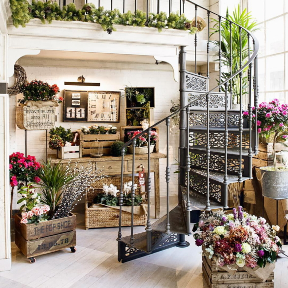 Flower shop in Madrid