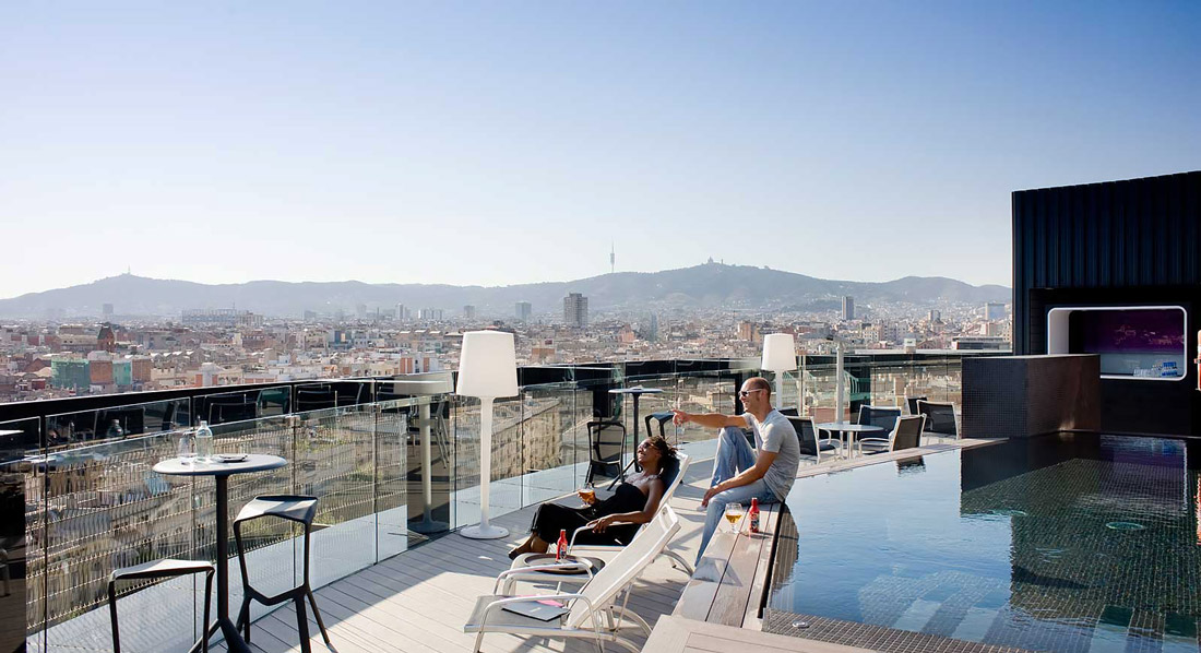 360° Terrace at Barcelo Raval