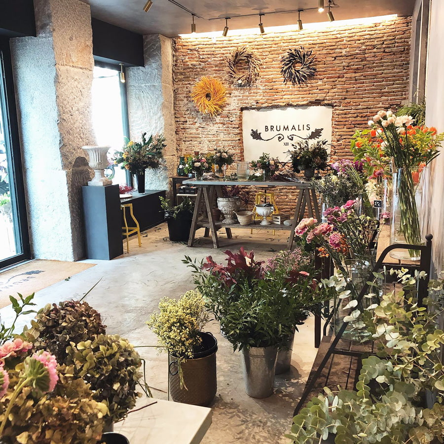 Brumalis flower shop, Madrid