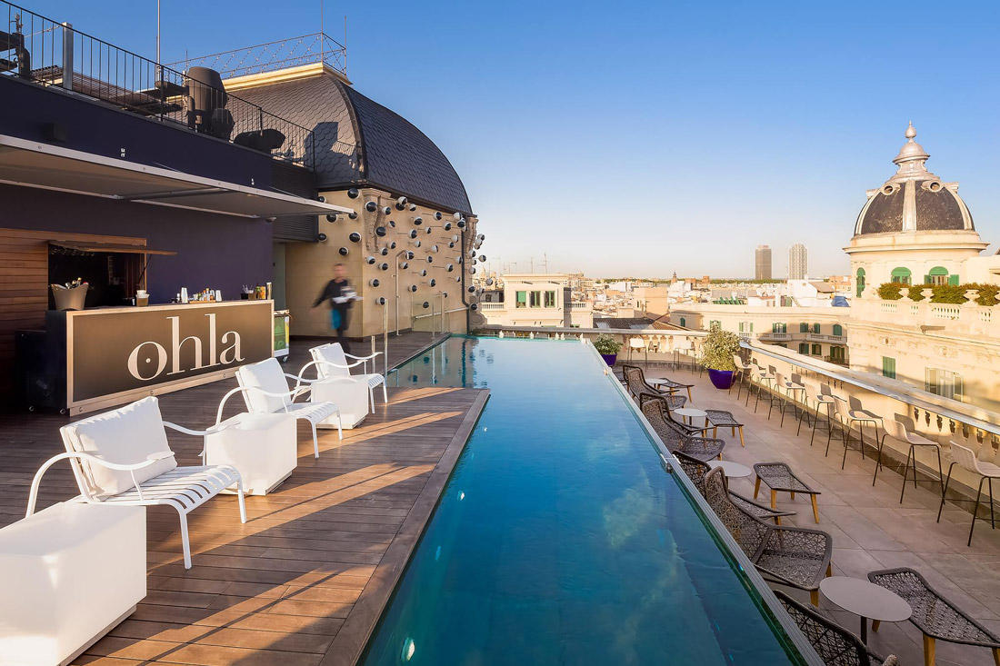 Rooftop Bar & Pool in Ciutat Vella