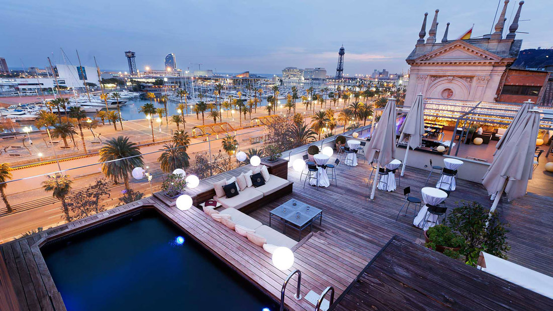 The 27 Coolest Rooftops In Barcelona