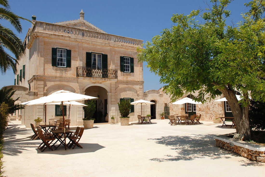 Stylish rural hotel in Menorca