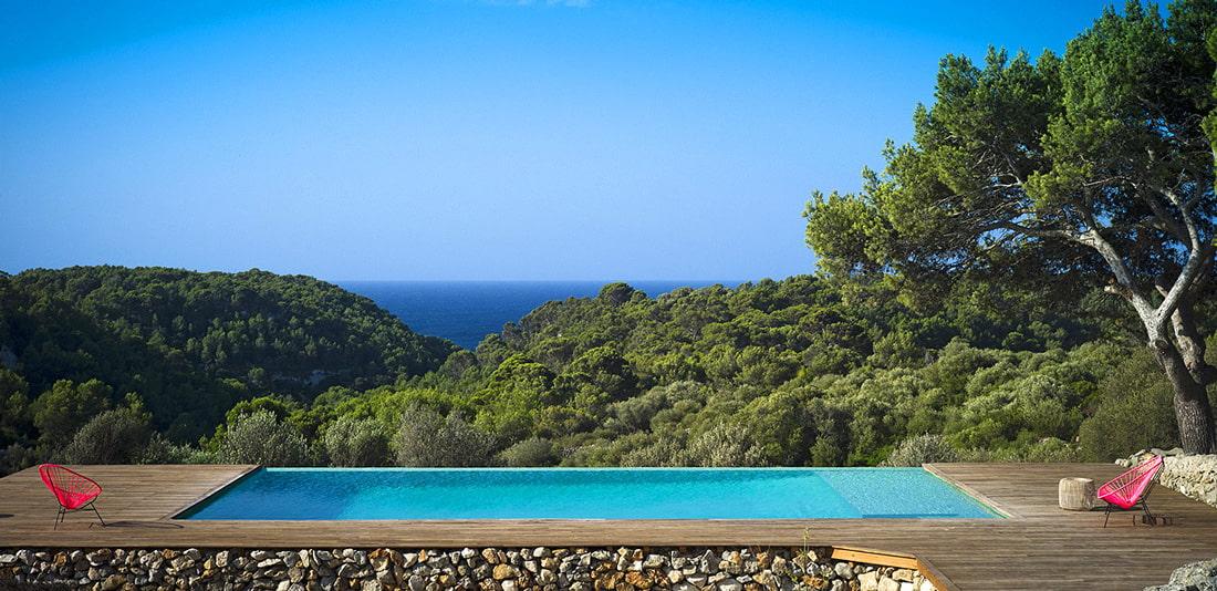 Boutique villa in the south of Menorca