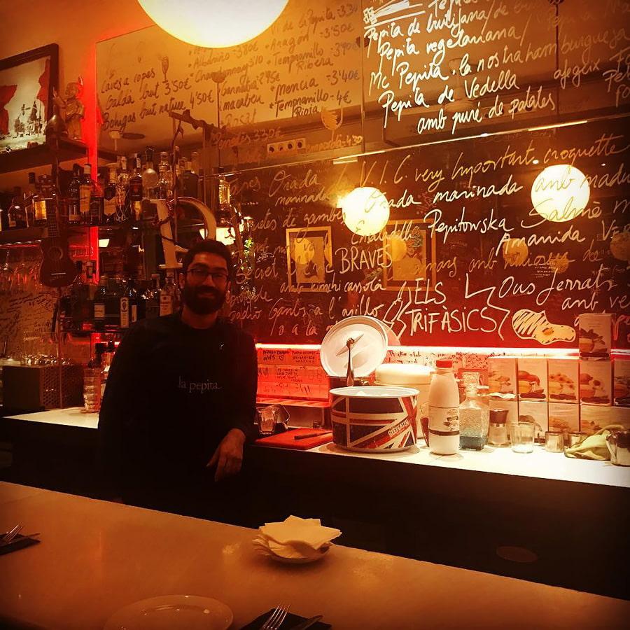Tapas bar in Gracia