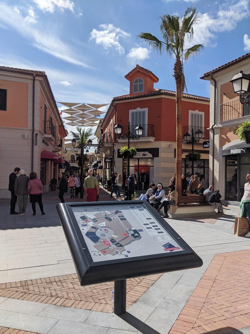 Designer outlet in Malaga