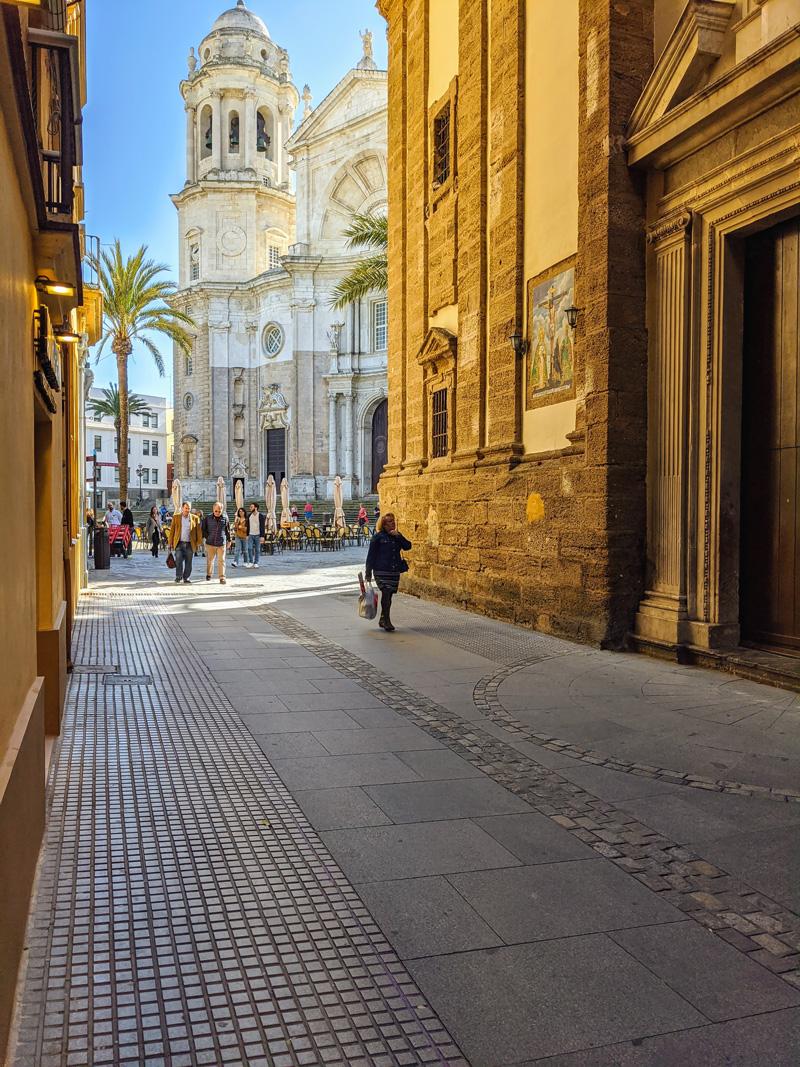 Cadiz old town
