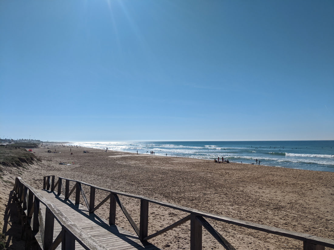El Palmar beach, Vejer