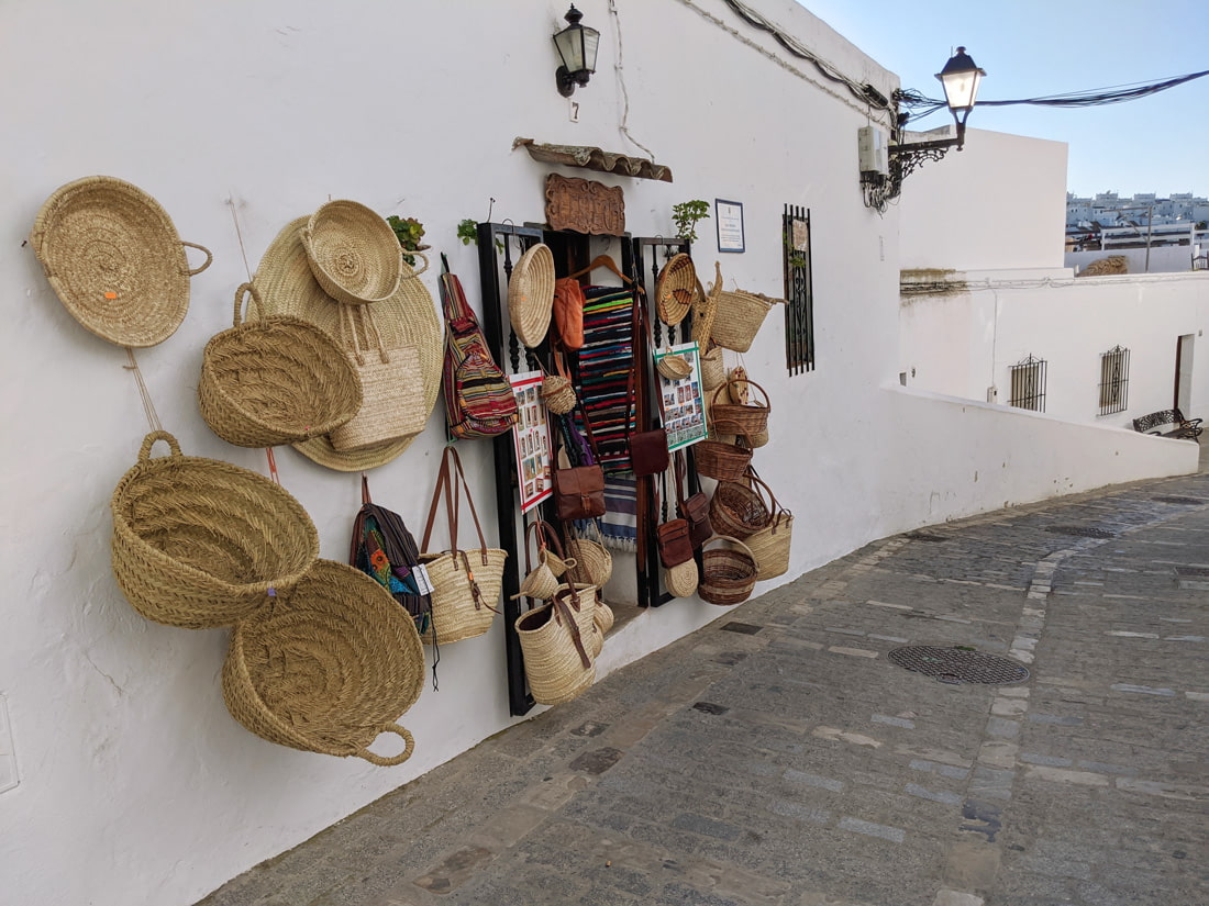 Traditional shop in Vejer de la Frontera