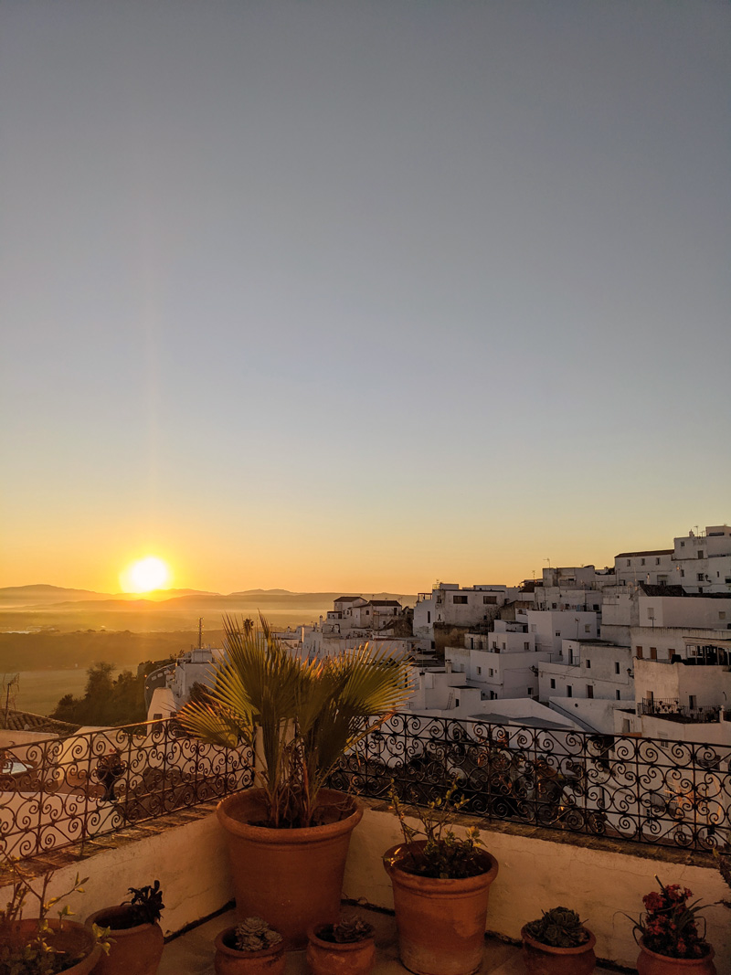 Sunrise in Vejer