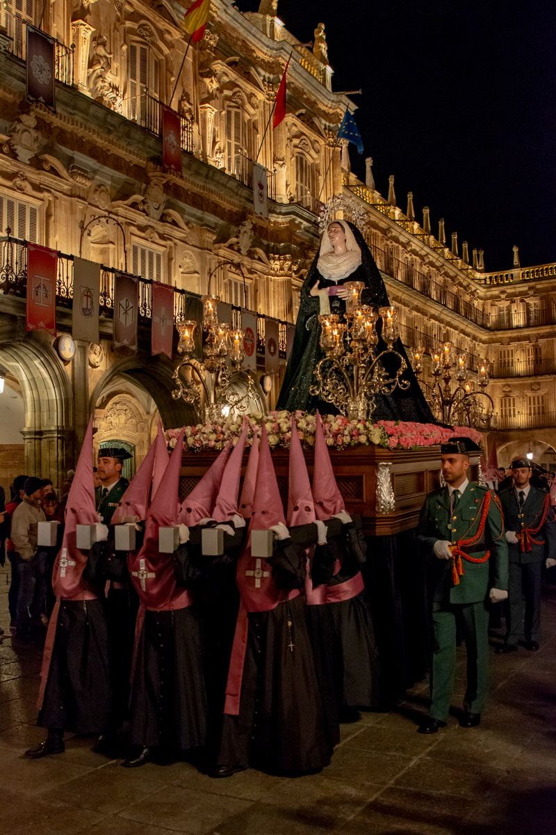 Easter procession in Salamanca