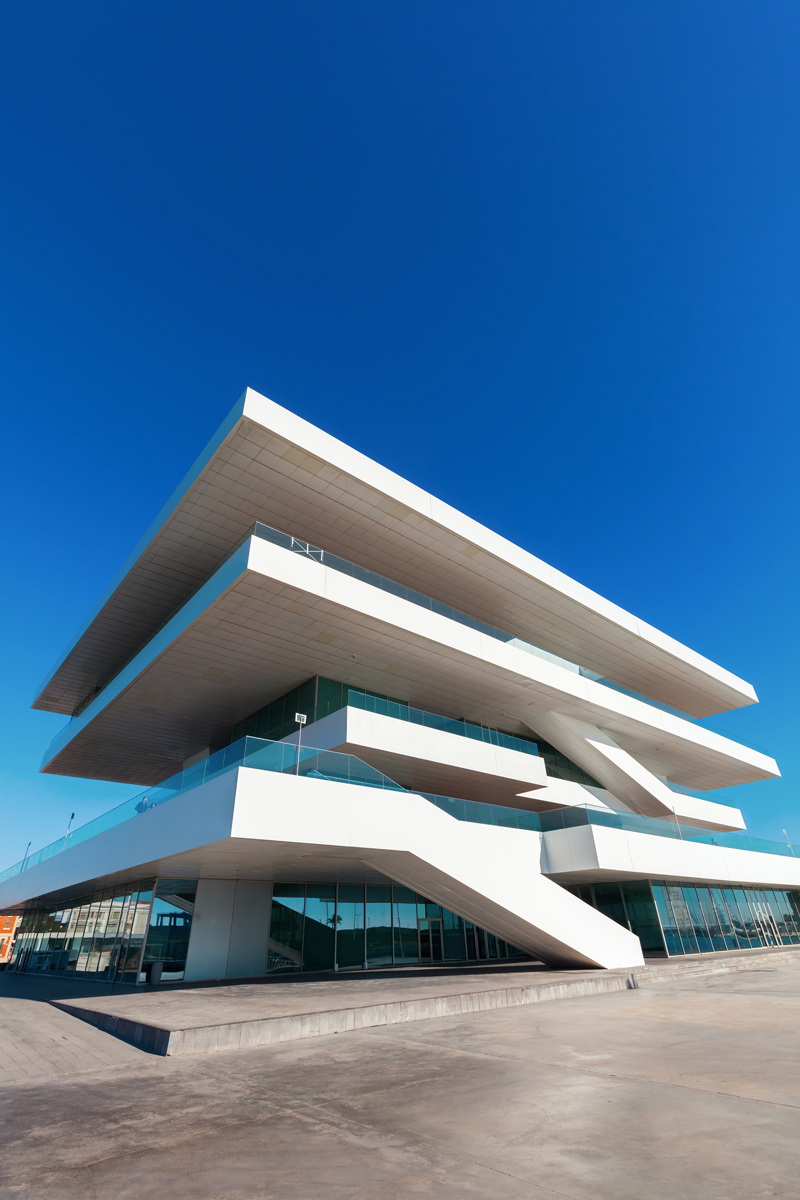 Contemporary architecture in Valencia