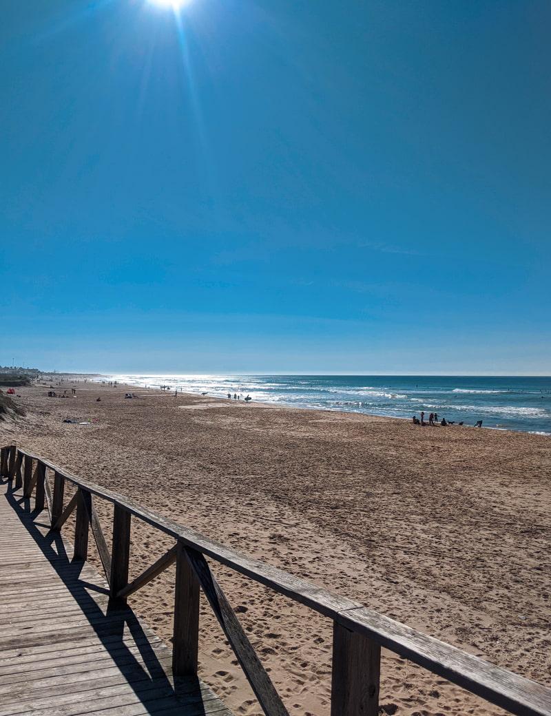 El Palmar surf beach