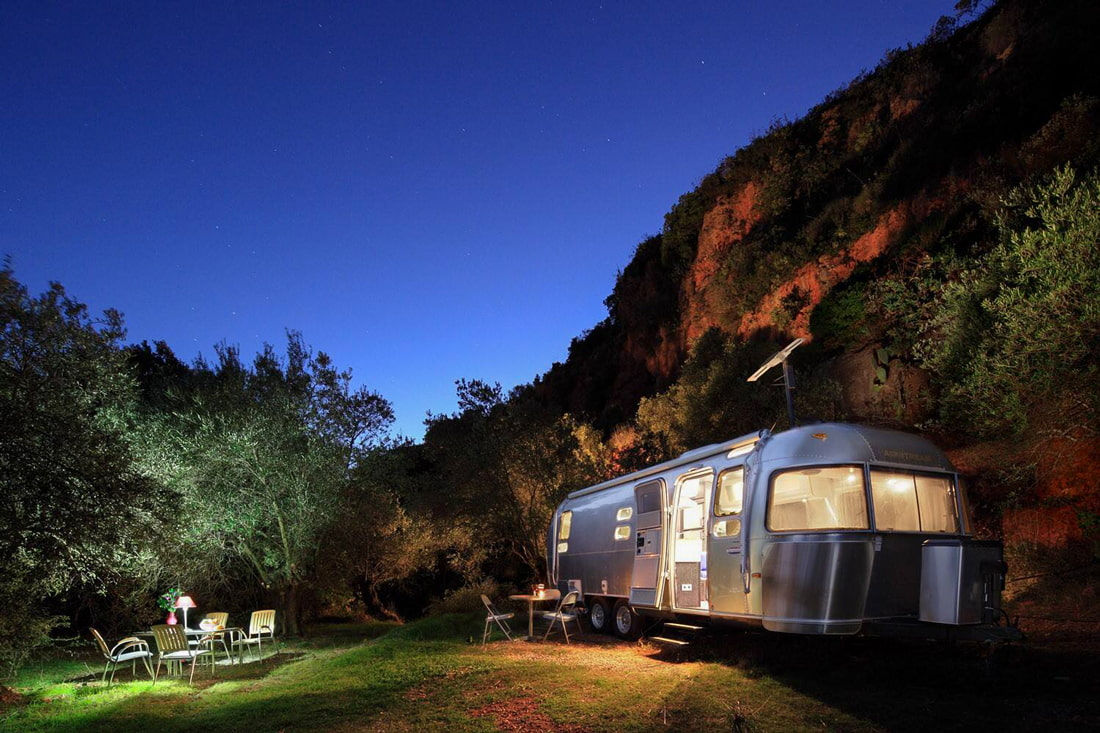 Glamping Airstream in Andalusia