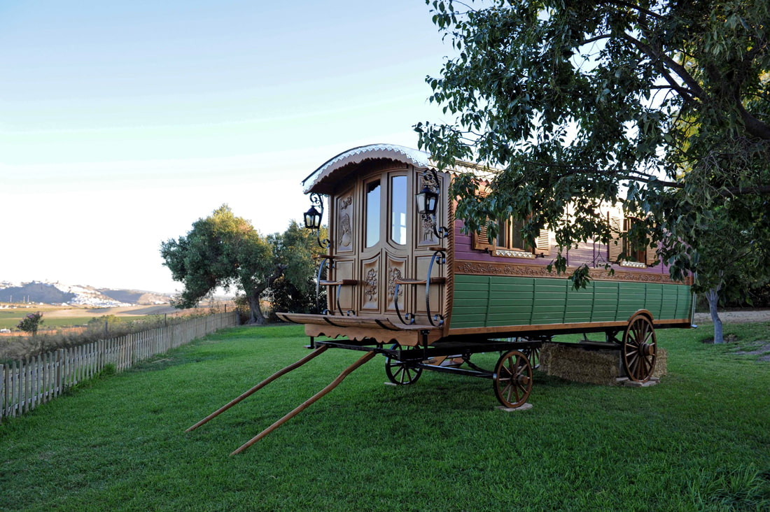 Stay in a gypsy caravan in Andalusia