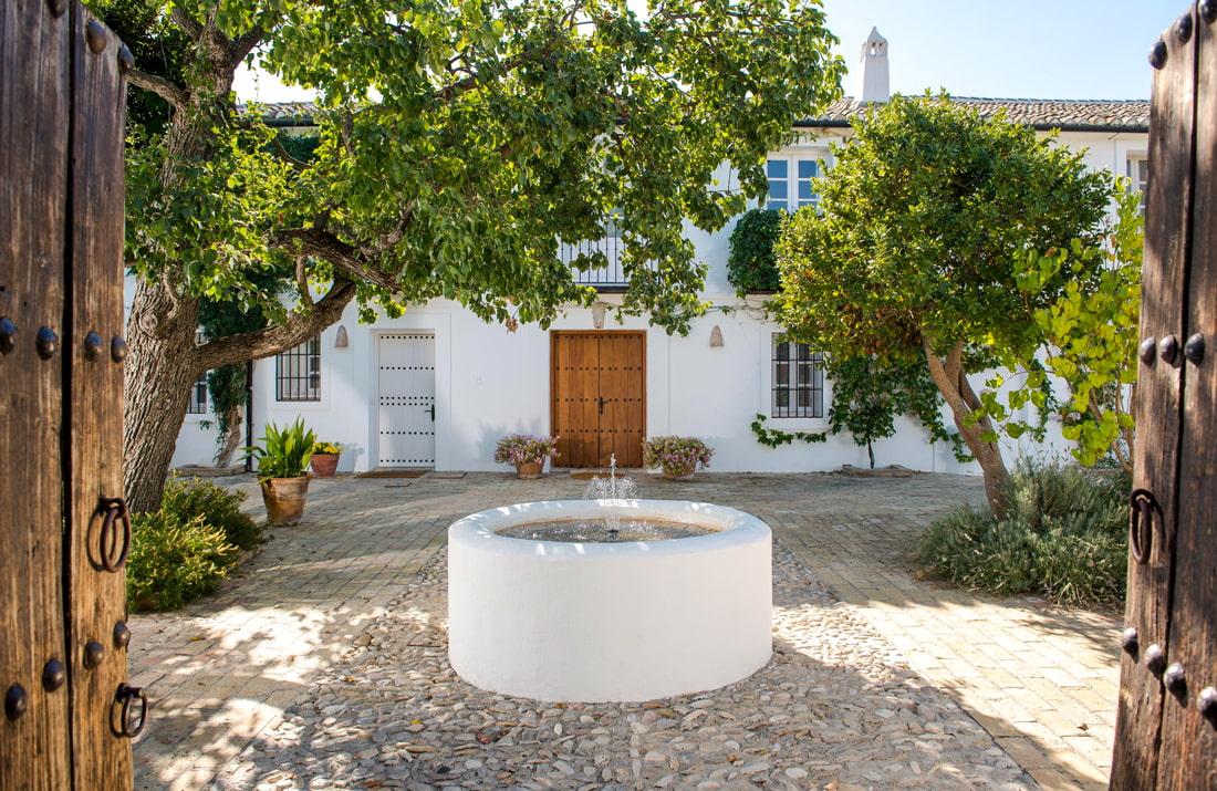 Restored Spanish hacienda in Malaga