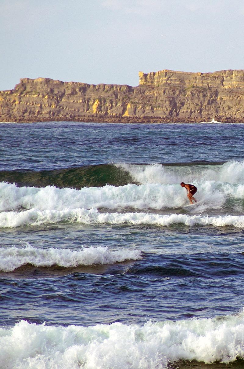 Mundaka beach, Spain