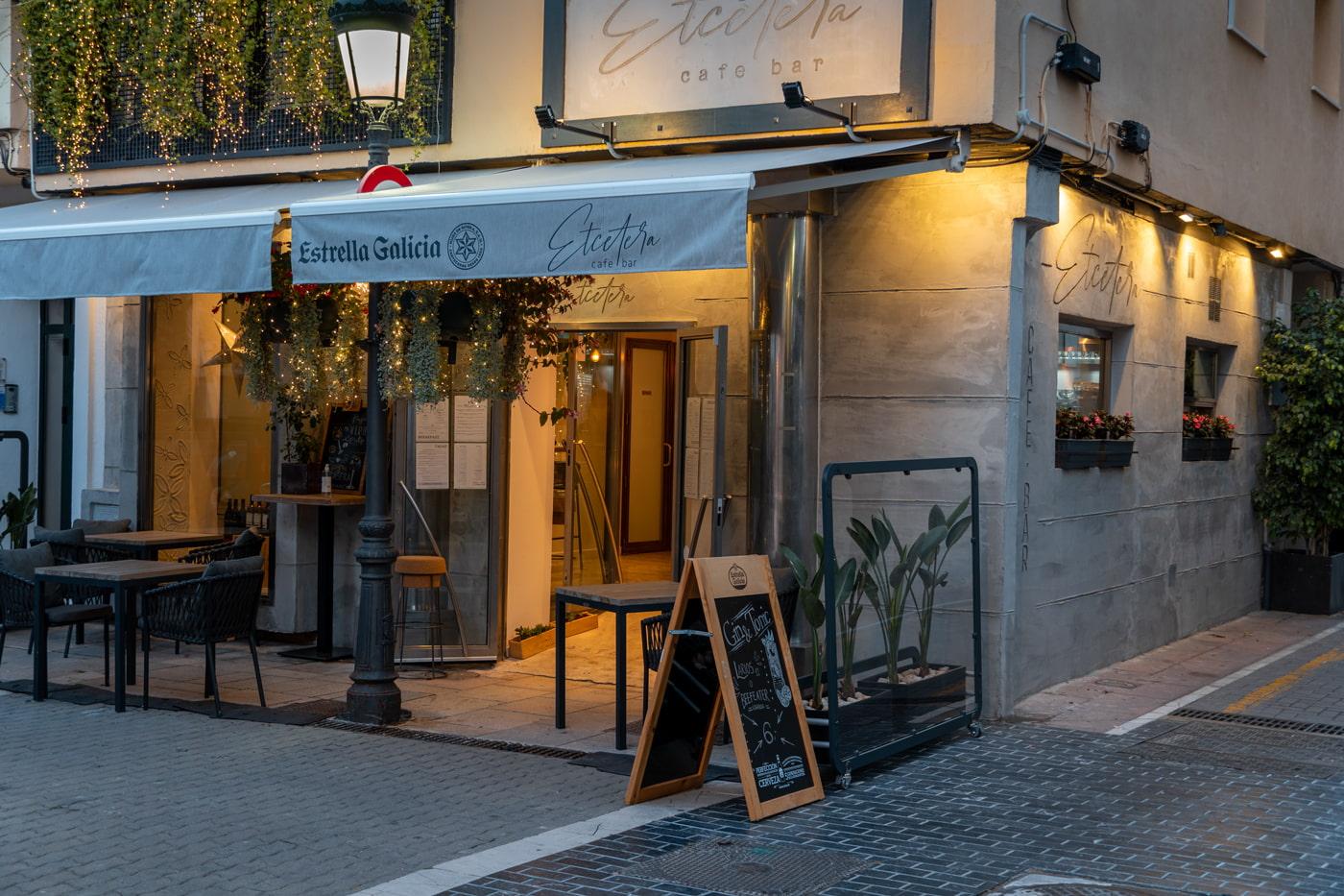 Etcetera Cafe Bar, Estepona