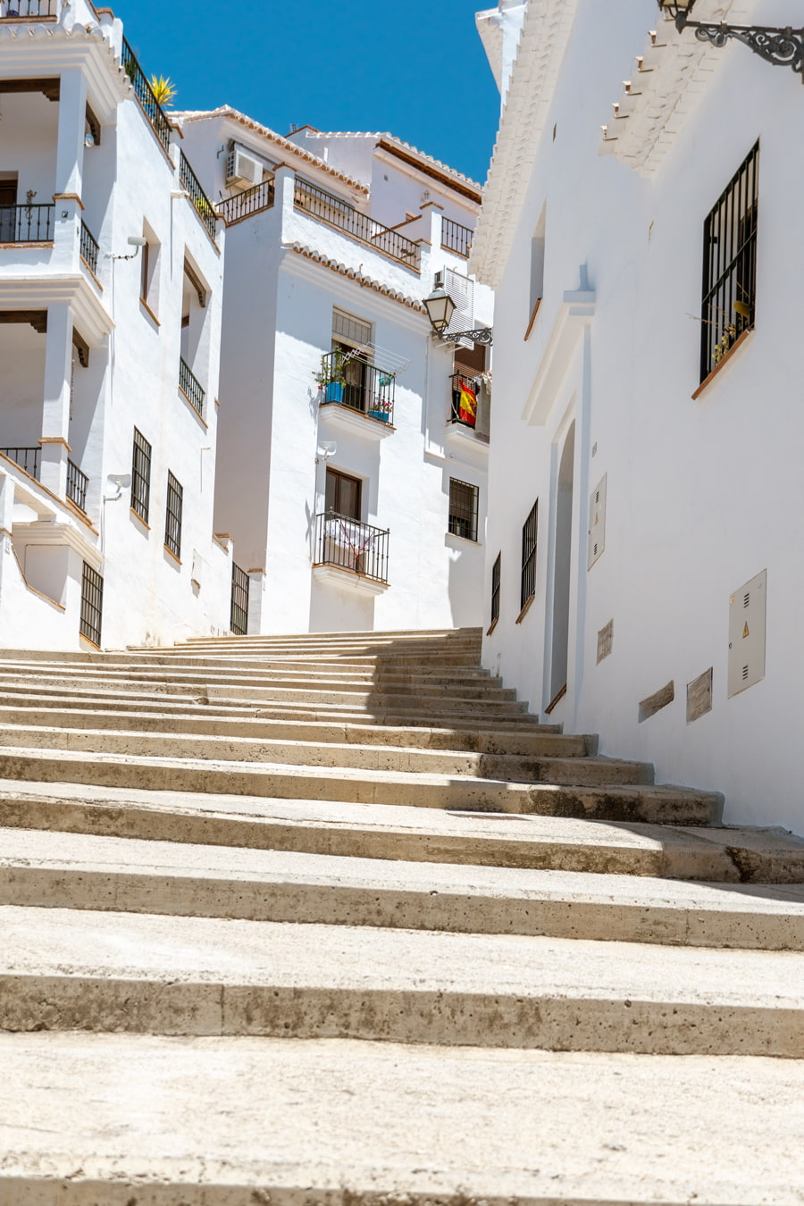 Stairs in Frigiliana