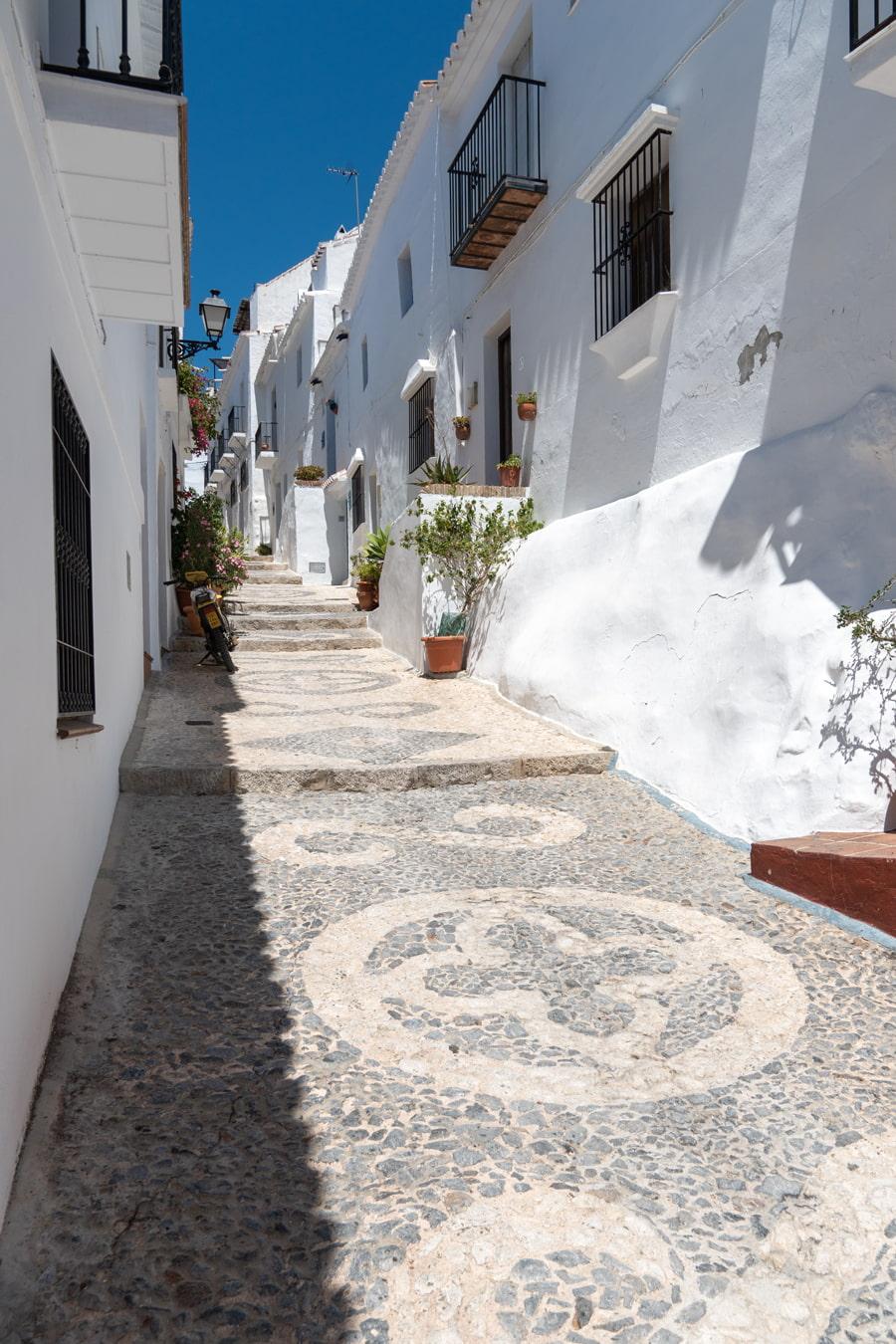 Quite street in Spain