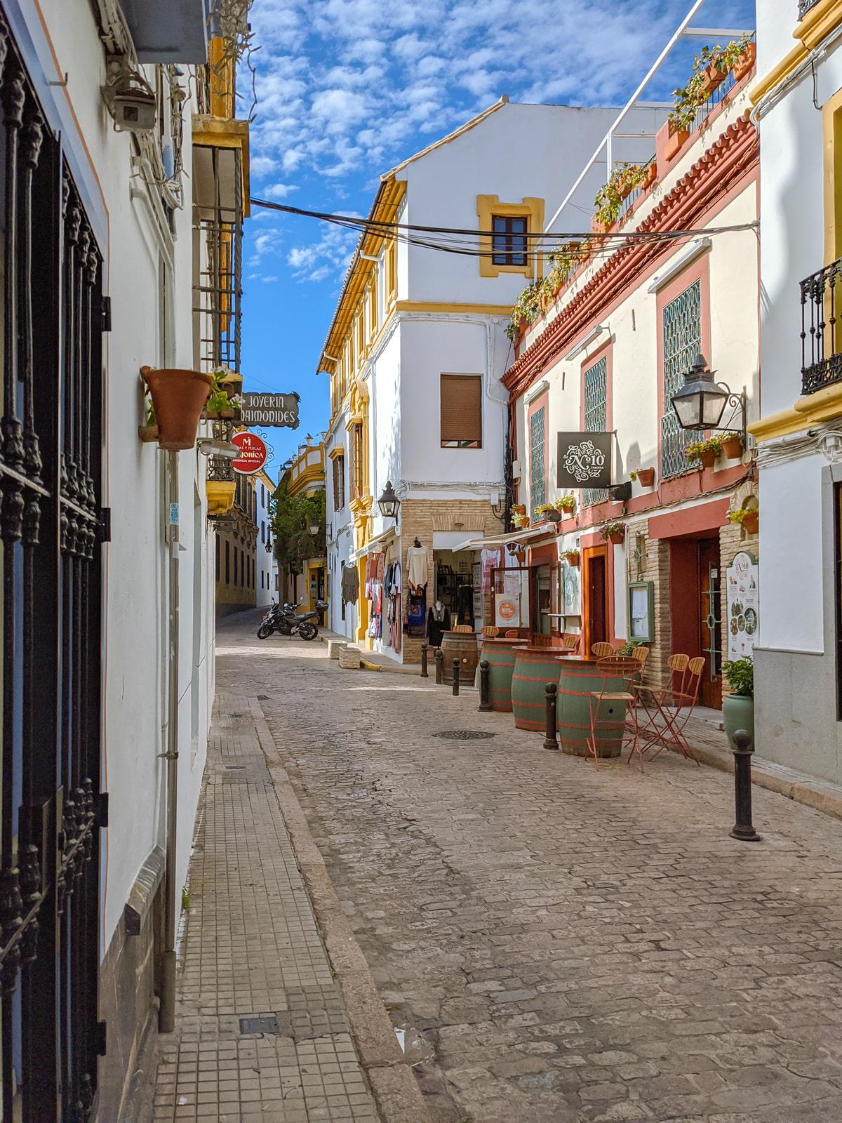 Cordoba historic center
