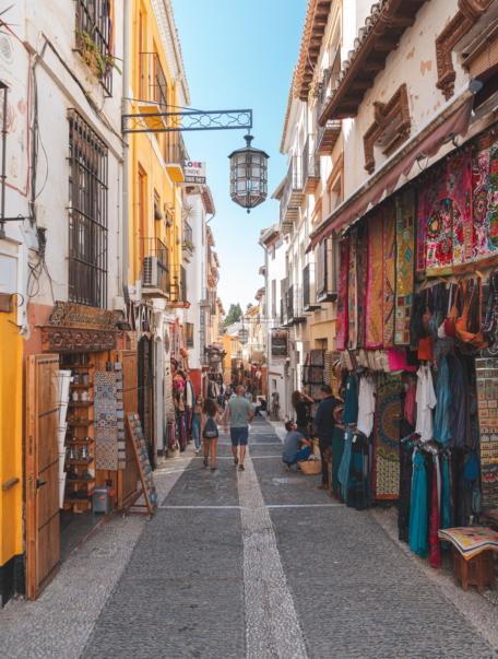 Shoppingin Granada