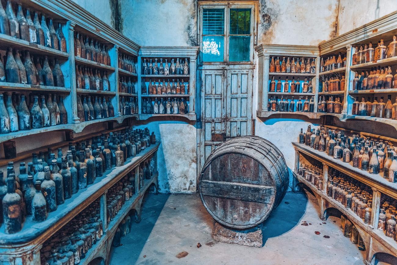 Historic cellar in Jerez