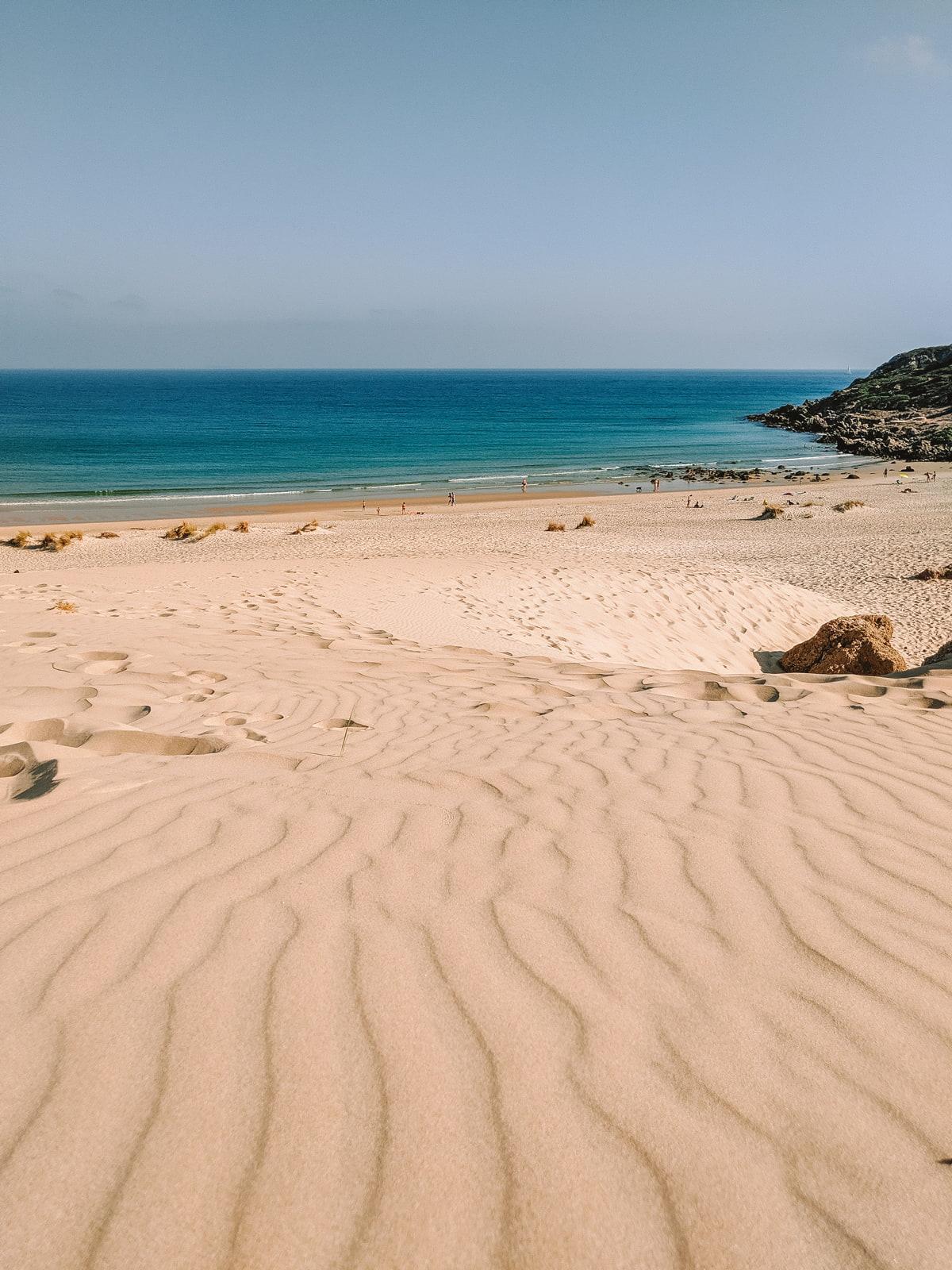 Wild beach near Tarifa