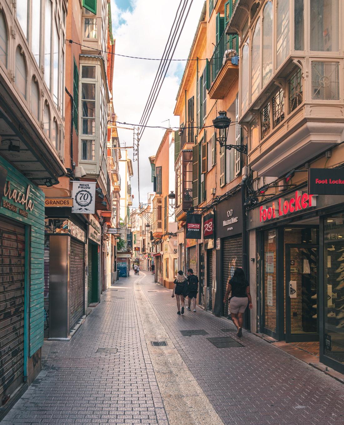 Carrer del Sindicat, Palma