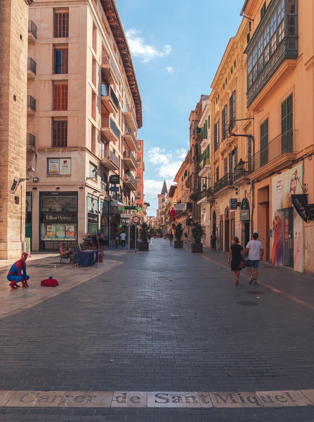Carrer de Sant Miquel, Palma