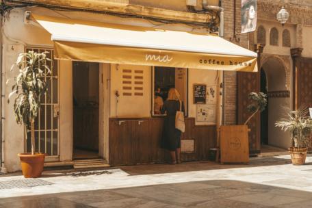 Cafe in Malaga