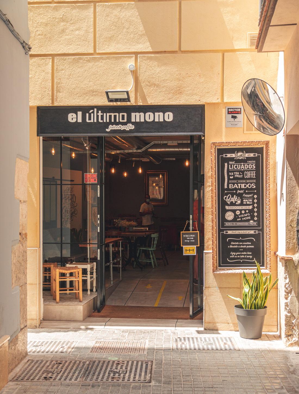 Coffee place in Malaga