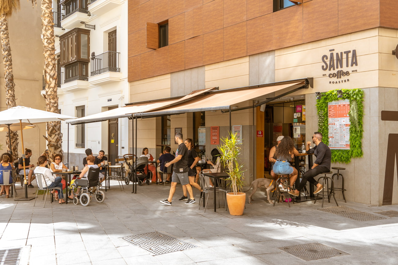 Santa Coffee, Malaga